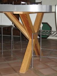 Pied de table de cuisine