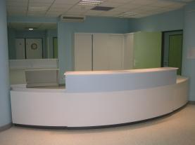 Banque d'accueil clinique